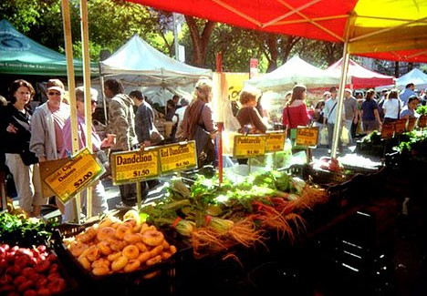 A Taste of Union Square Green Market via Interview (Video)