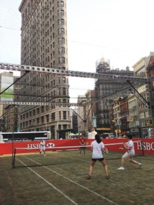 23rd Street and 5th Ave - A Tennis Court?
