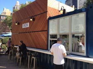ilili Box opens at Madison Square Park Public Plaza North ..