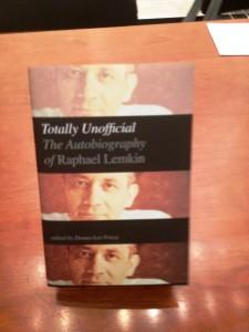 Lemkin's Autobiography