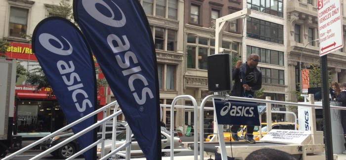 Can You Run as Fast as Ryan Hall?  It's the Asics Ryan Hall Treadmill Challenge!
