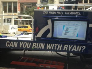 Get on the ASICS Treadmill and see if you keep up with the great Ryan Hill ...