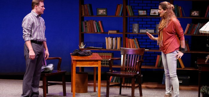 """Merle Good's """"The Preacher and the Shrink"""" Tackles Sexual Abuse, Heresy at Beckett Theater"""