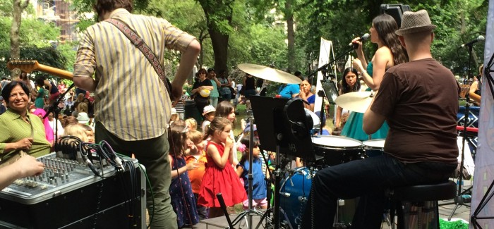Joanie Leeds and the Night Lights Light Up the Park for Mad. Sq. Kids Series