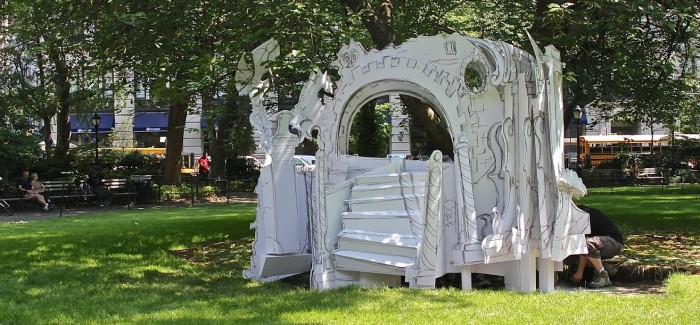 Rachel Feinstein's Folly Fairytale Comes to Life in Madison Square Park