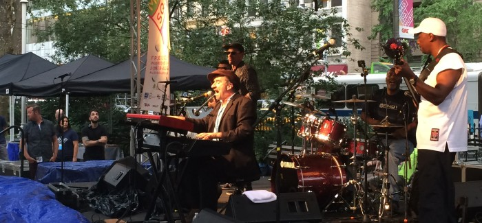 Jon Cleary Takes His Turn at Mad. Sq. Park Concert Series