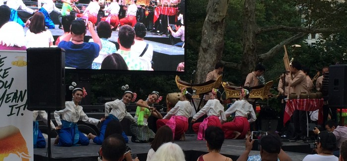 The Best of Thailand — Right in Madison Square Park on a Sunday Afternoon!