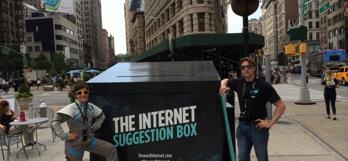 Flatiron Dwellers Asked for Ideas to Make the Internet Better by Internet Inc