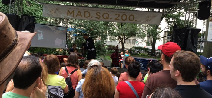 Mad. Sq. 200 Historic Fair Celebrates Naming of Madison Square Park
