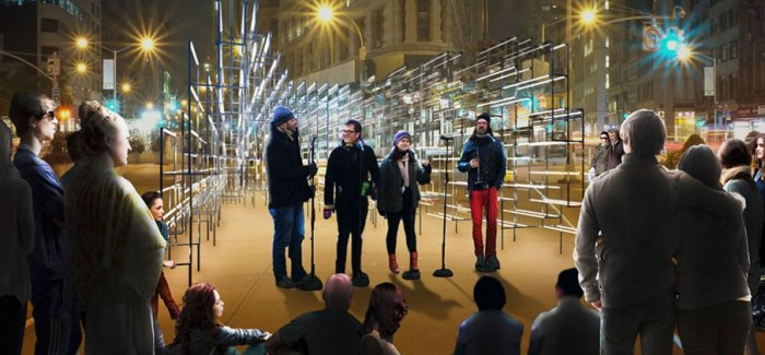 Flatiron Partnership and Van Alen Institute Declare INABA Winner of Holiday Design Competition