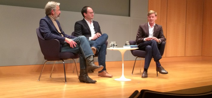 New Republic Editors Foer, Hertzberg and Publisher Hughes Discuss 100 Years at NY Public Library Panel Discussion