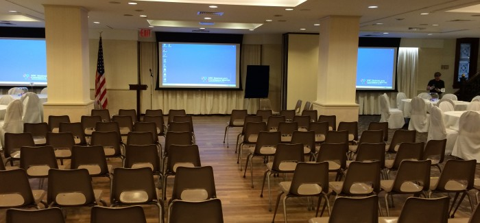 Conference Hall Renovations at 71 W. 23rd Street Now Complete: Sneak Preview!