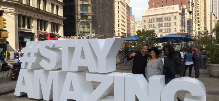 "Marriott-Fairfield Inn ""#StayAmazing"" Promotion in Flatiron Plaza Today, Tomorrow – Juggle your Way to a $500 Prize"