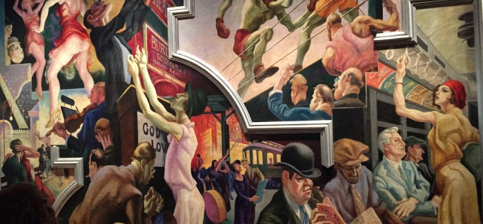 "Benton's Epic Mural ""America Today"" Installed at the Met – A Must-See!"