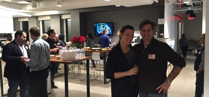 Liquid Space, Red-Hot Online Marketplace for Conference Space, Hosts Holiday Party at OfficeLinks