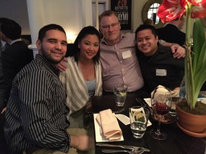 The Wyndham's Valerie Cruz hosts a delightful get-together at Raymi!