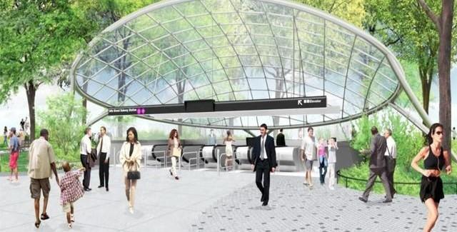 Hudson Yards 7 Train Extension and New Subway Stop – Sneak Peak!