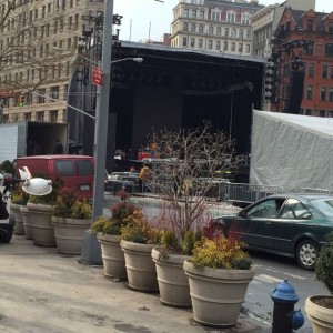 Concert Setup Continues in Flatiron!