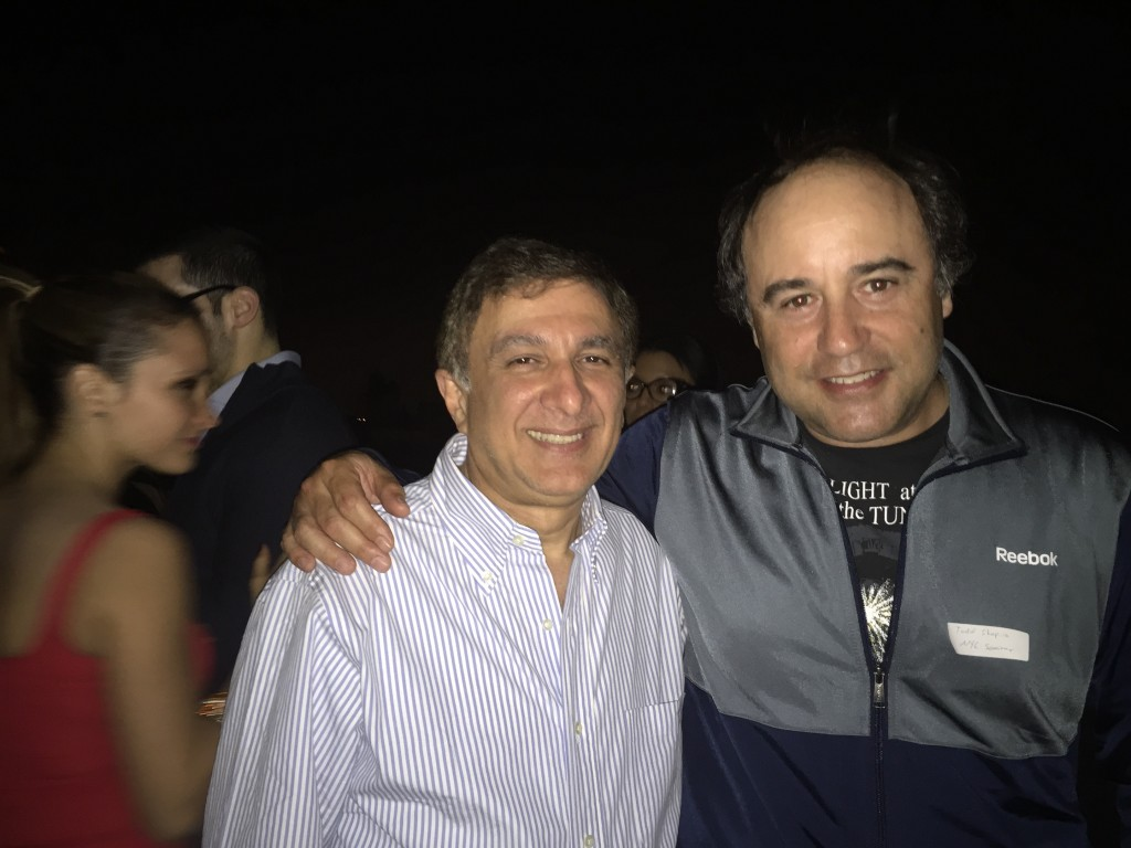 Loft at Prince's Igal Levy with NYCSCC Co-Owner Tod Shapiro - on the rooftop at 177 Prince!