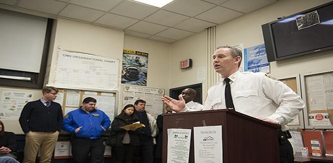 NYPD Captain Brendan Timoney