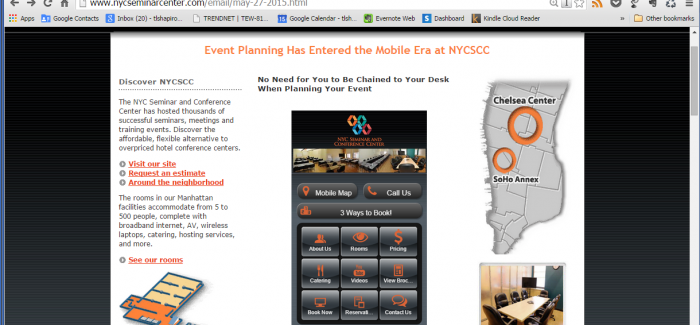 Flatiron Business NYCSCC Uses Duda Mobile to Build Cutting-Edge Mobile Site