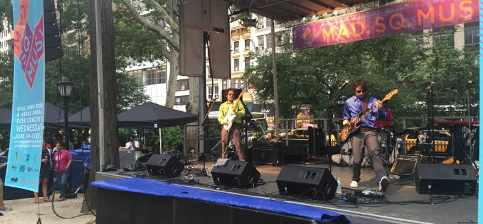 Mad Square Music Rocks, Featuring The Stepkids – Cool Music for a Cool Summer Evening!