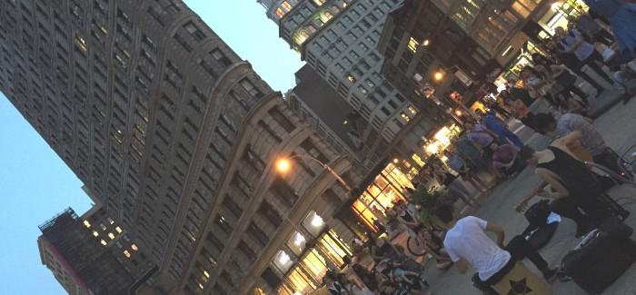 Flatiron and Madison Square Park – Ideal for a Mid-Summer Eve Stroll!