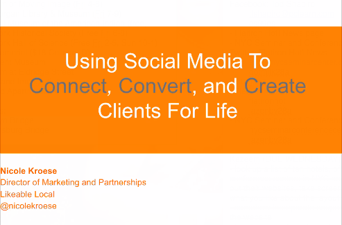 "Webinar: ""Creating a Successful Social Media Strategy"""
