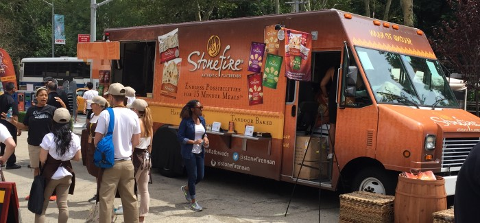 Stonefire Flatbread Shows Hot Offerings in Flatiron Public Plazas