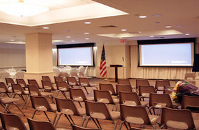 Newly Renovated 2nd Floor Conference Hall at NYCSCC Strikes the Perfect Balance Between Aesthetic Appeal and High-Tech Functionality!