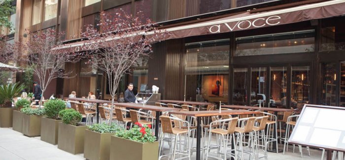 A Voce Lunch – Restaurant Week Exclusive