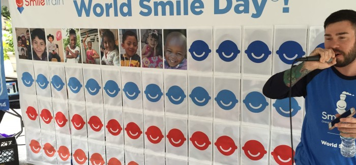 Smile Train Brings Kids' Happy Faces to Flatiron Public Plazas