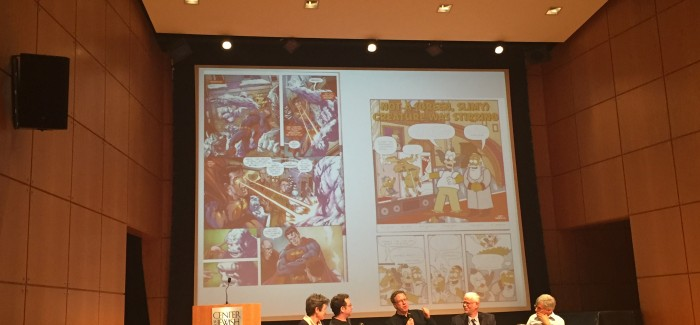 A Wednesday Evening at the Center for Jewish History: Panel Discussion on Jews in Comics & an Exhibit on Civil Rights!