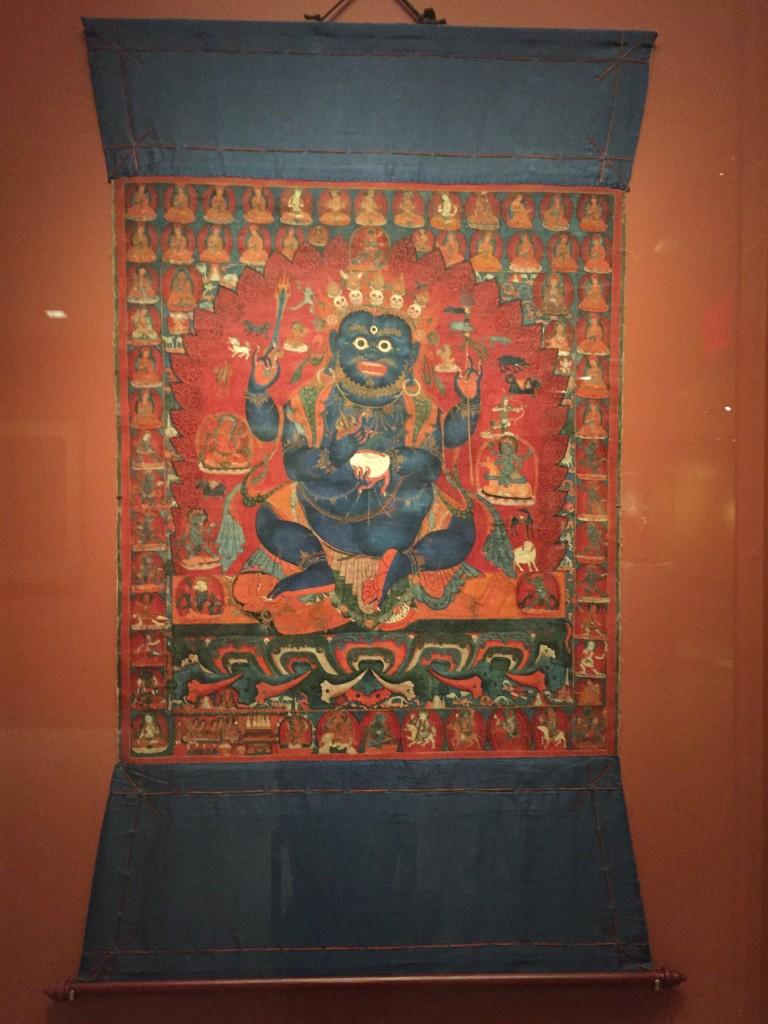 """Four Armed Mahakala,"" Western Tibet, 15th Century"