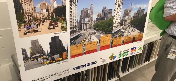 Flatiron 23rd Street Partnership BID Kicks Off Permanent Makeover of the Flatiron Public Plazas with Community Workshop
