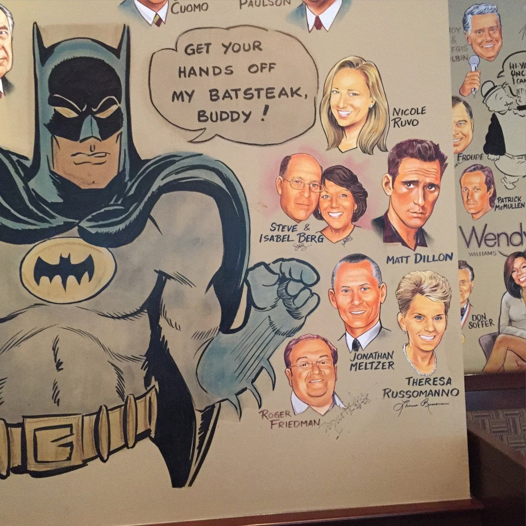 Some Impressive Guests line the walls at the Palms!