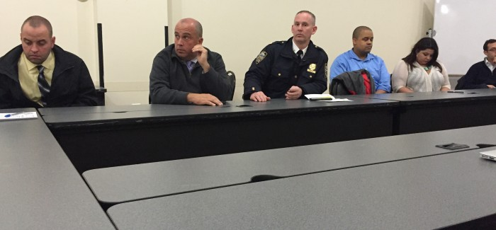 13th Precinct Officials Address CB5 Public Safety Quality of Life Subcommittee on Recent Flatiron Violence, Other Issues