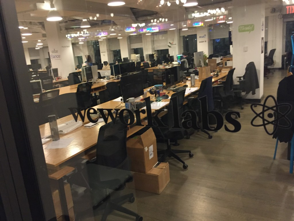 A look at the future of Office Space - Wework!