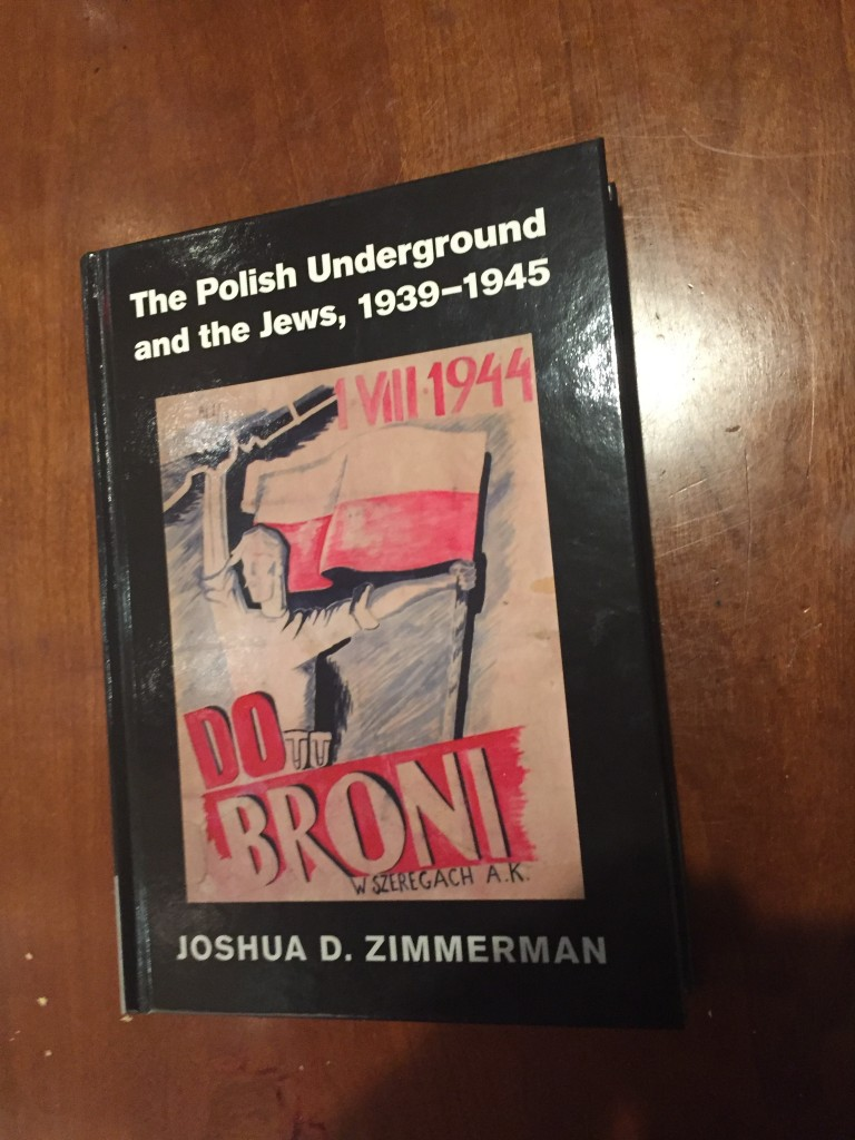 The Polish Underground and The Jews - the Book behind the Lecture ...