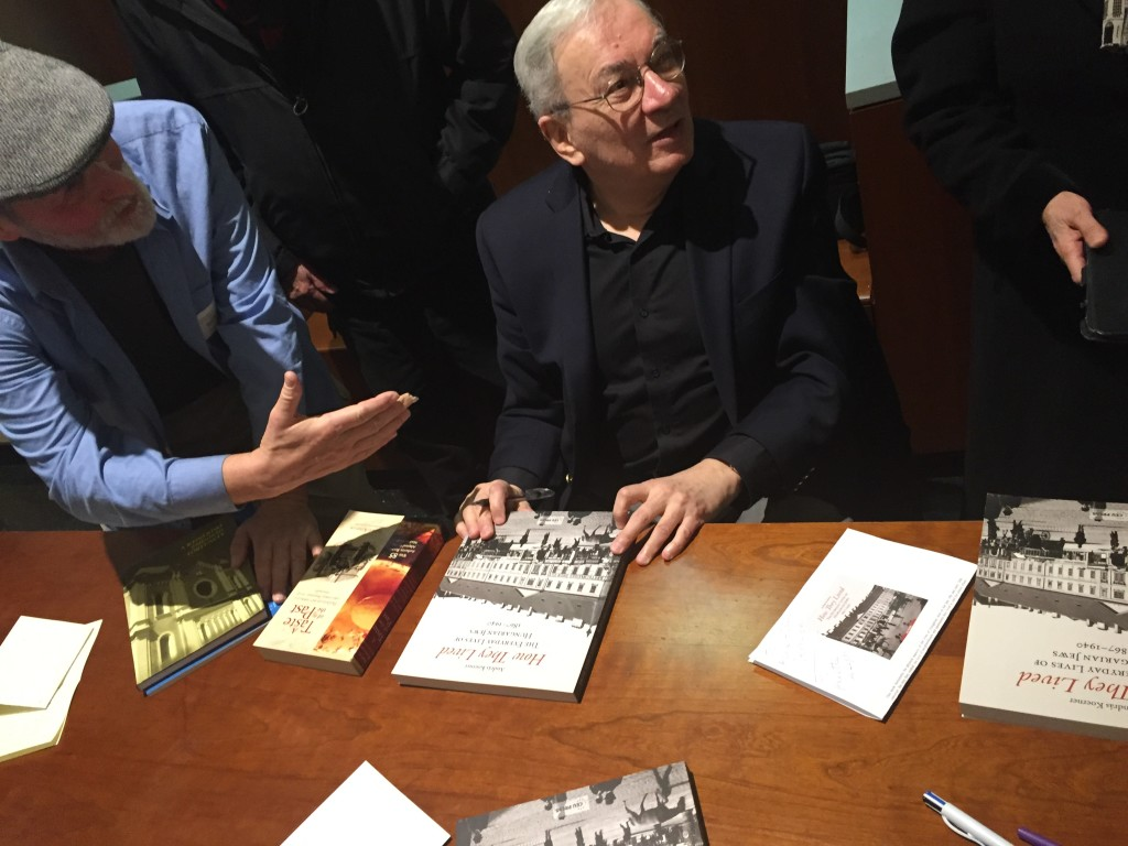 The Author greets Attendees for a Book Signing ...