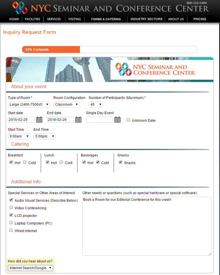 NYCSCC's Enhanced Tripleseat Reservation Request Form!