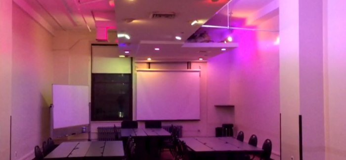 NYCSCC Upgrades Room with New Hi-Tech Lighting and Audio!