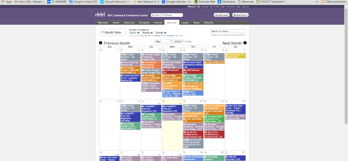 NYC Seminar Center Integrates Google Calendar with Tripleseat, Liquid Space, and HappyDesk for Seamless Web Event Booking