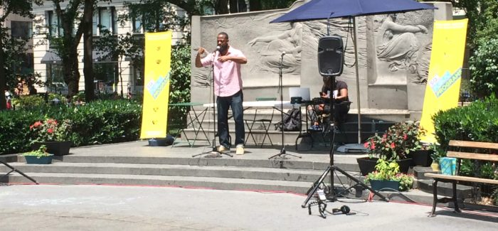 Poets in the Park: Nuyorican Poets Cafe