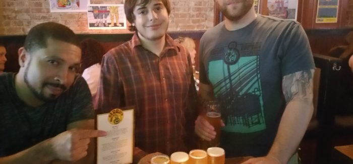 Flatiron's  Taproom 307 Offers Great Venue for NY-Based Microbrewer Barrier's New Beer Launch!