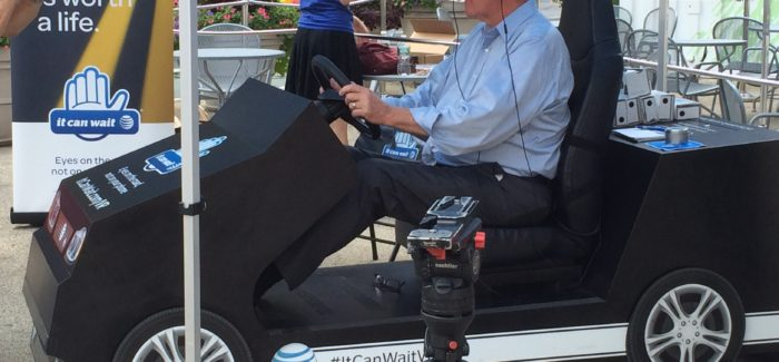 It Can Wait: VR Simulator Displays the Dangers of Texting and Driving