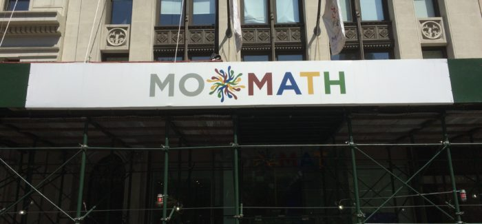 Visit the Museum of Mathematics!