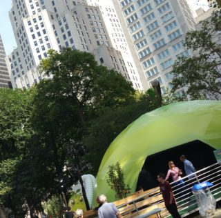 Farm Heroes Super Saga Takes Over Madison Square Park – Hug Your Cropsies!