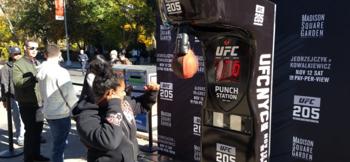 Try Out Your Left Hook in the Flatiron Public Plazas this Monday!