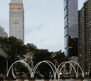 Flatiron Skyline - Funky Bars and Bulbs in our Public Plazas!